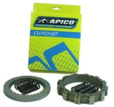 Apico YZ 125 02-04 Clutch Kit Friction/Steel Plates Inc Springs YZ125 Motocross